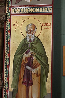 Icon of St Sabbas
