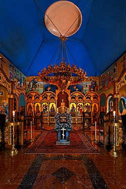 St Sabbas Monastery -- Michigan